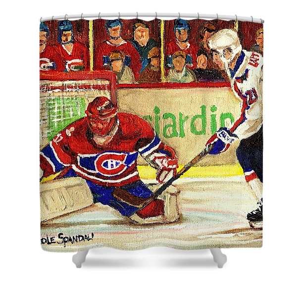 Halak Makes Another Save Shower Curtain
