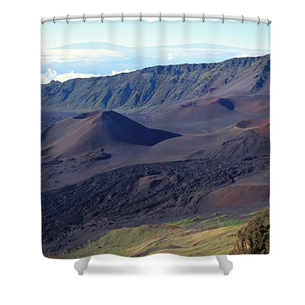 Haleakala Panorama Shower Curtain