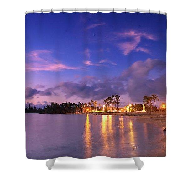 Hale'iwa Evening Shower Curtain