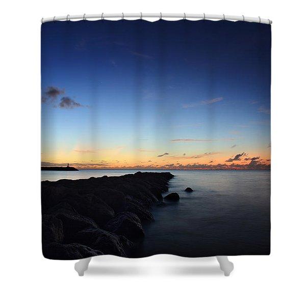 Hale'iwa Harbor Shower Curtain
