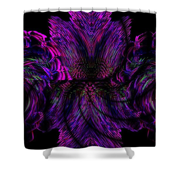 Half Believing Shower Curtain