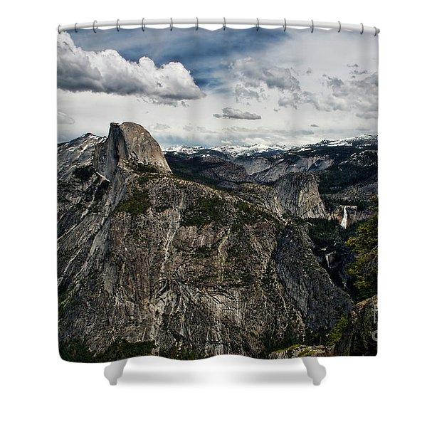 Half Dome At Yosemite Shower Curtain