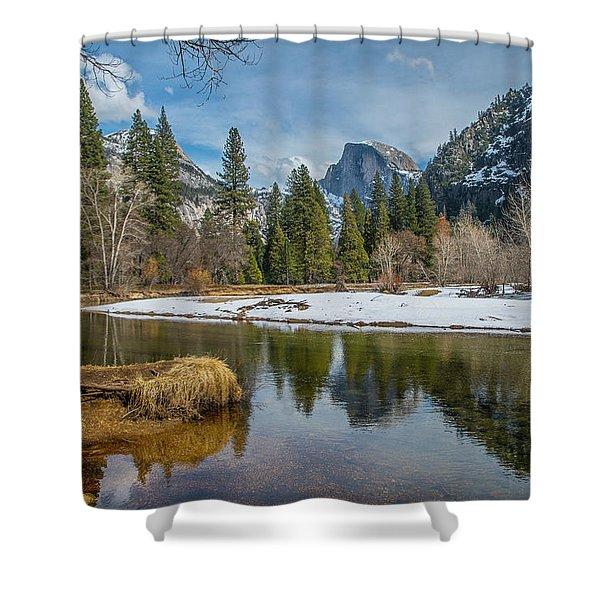 Half Dome Vista Shower Curtain