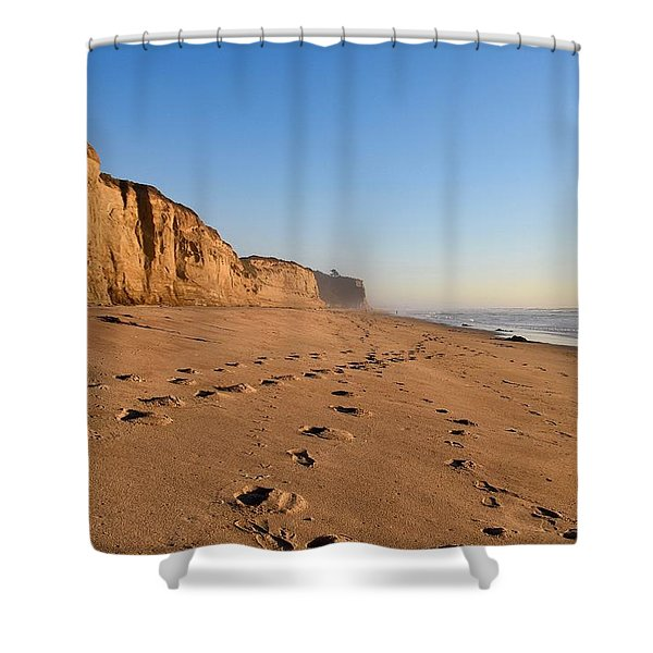 Half Moon Bay Shower Curtain