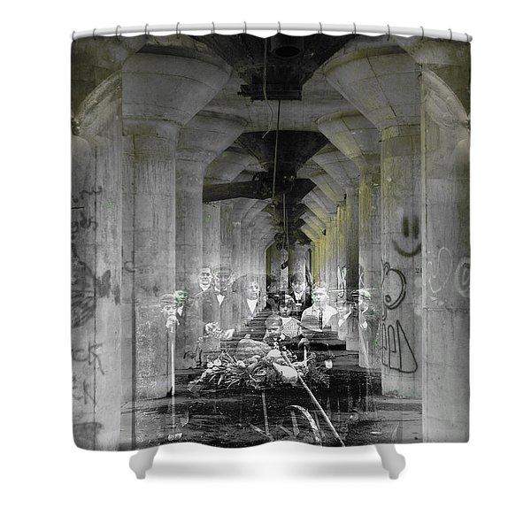 Hall Of Secrets Shower Curtain