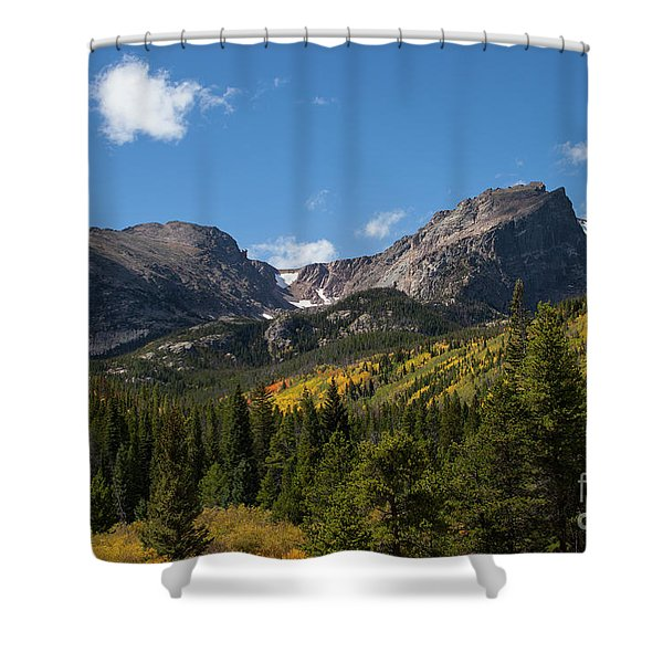 Hallett Peak Shower Curtain