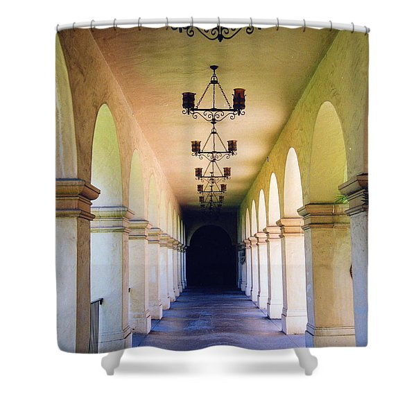 Hallowed Halls Shower Curtain