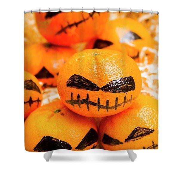 Halloween Craft Treats Shower Curtain