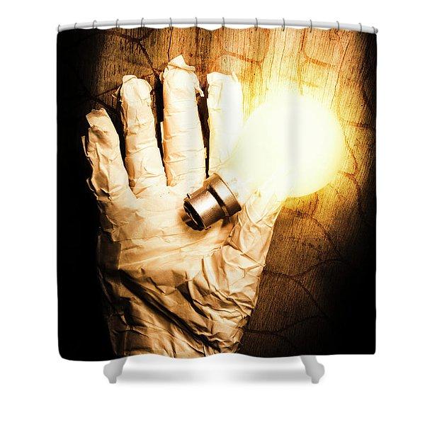 Halloween Ideas Concept Shower Curtain