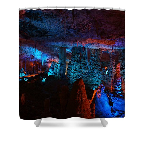 Halls Of The Mountain King 1 Shower Curtain