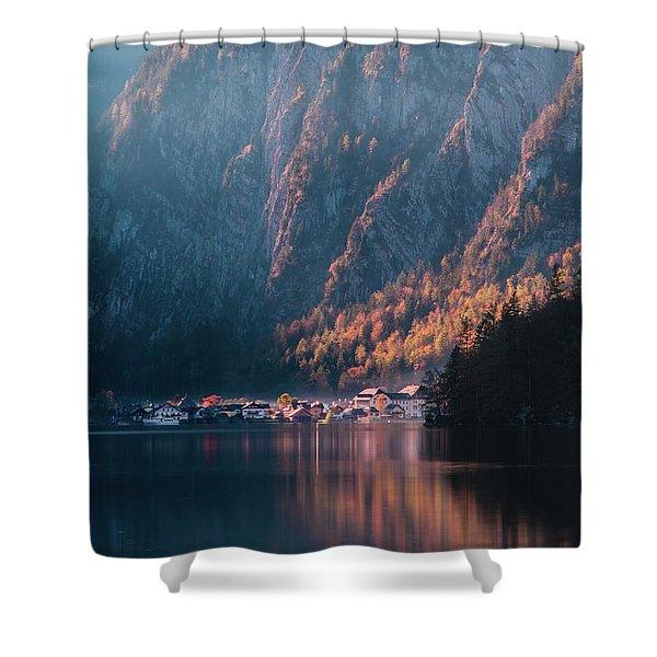 Hallstatt Fall Shower Curtain