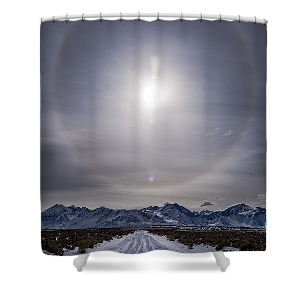 Halo Road Shower Curtain