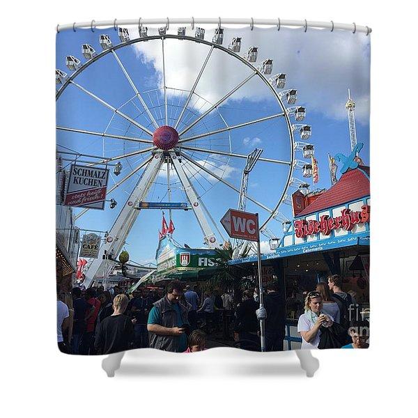 Hamburg, Germany Carnival  Shower Curtain