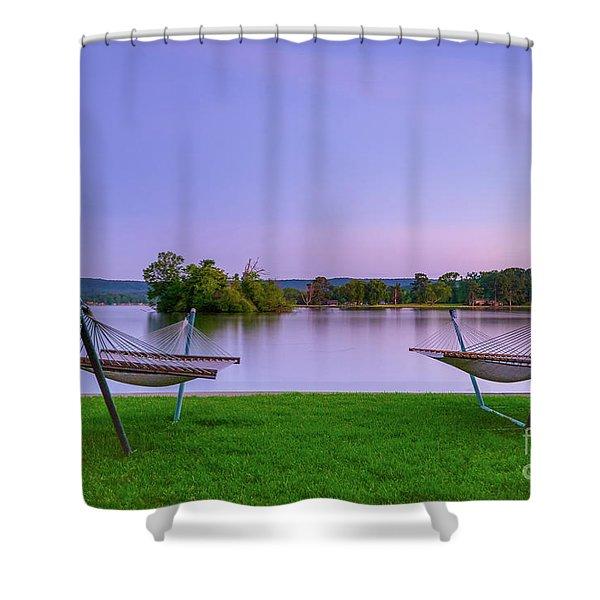 Hammock Life Shower Curtain