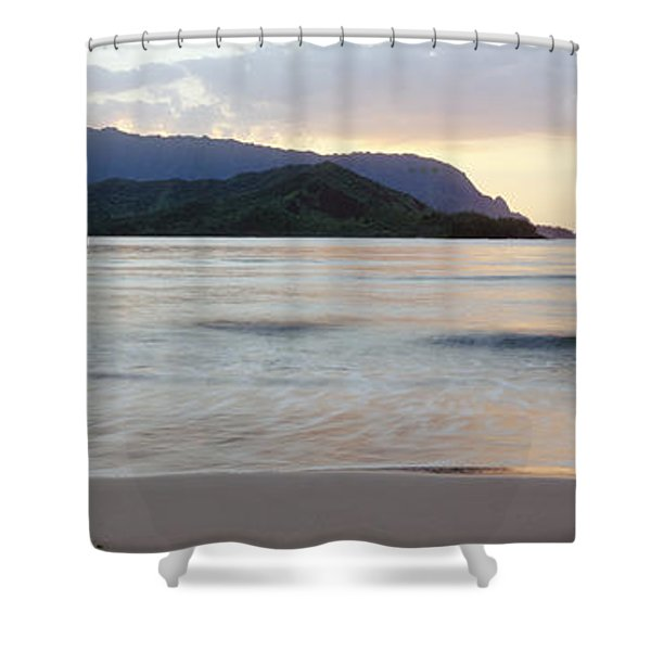 Hanalei Bay Evening Shower Curtain