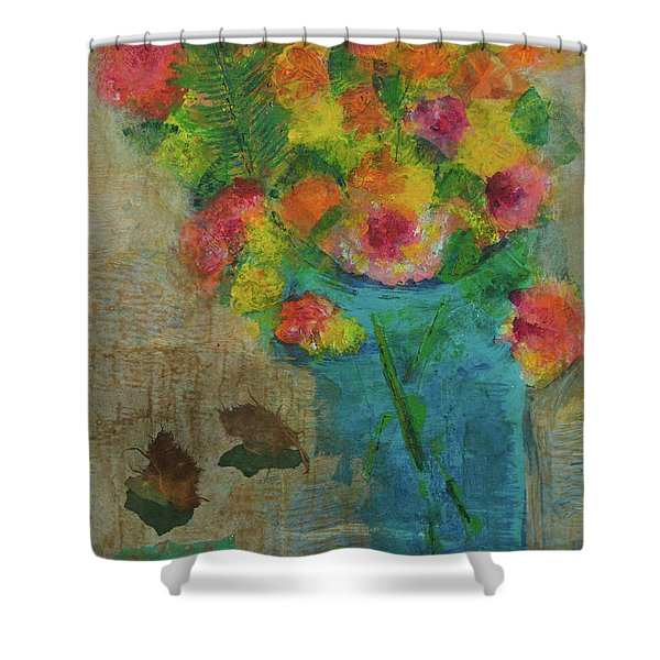 Hand Picked Shower Curtain
