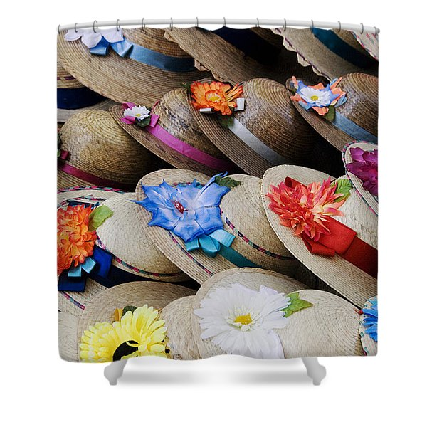 Handmade Hats Shower Curtain