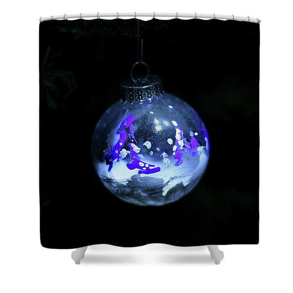 Handpainted Ornament 001 Shower Curtain