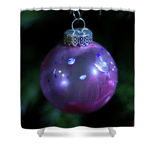 Handpainted Ornament 002 Shower Curtain