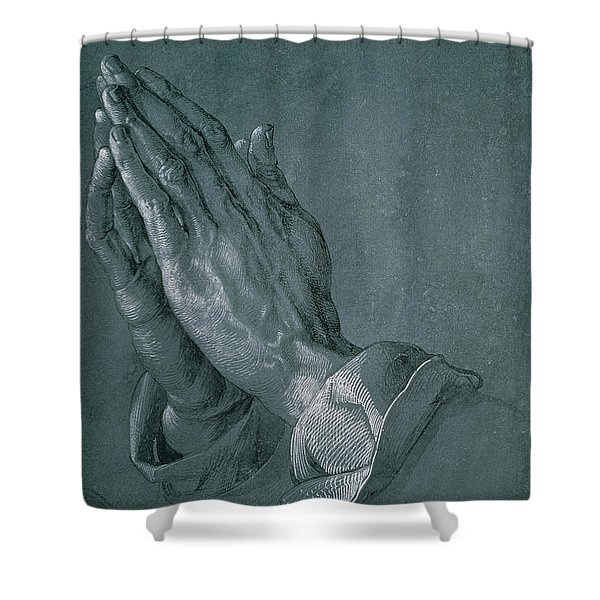 Hands Of An Apostle Shower Curtain
