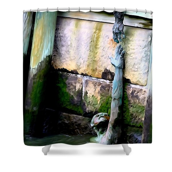 Hands Of Hope Shower Curtain