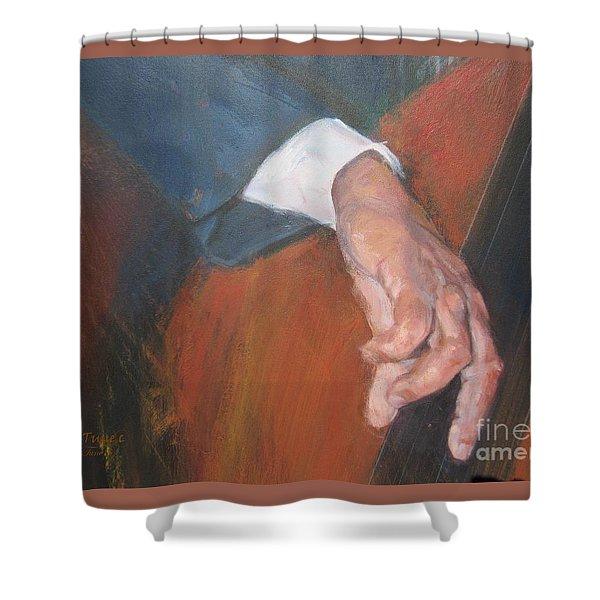 Blaa Kattproduksjoner          Hands Of Deep Sound Shower Curtain