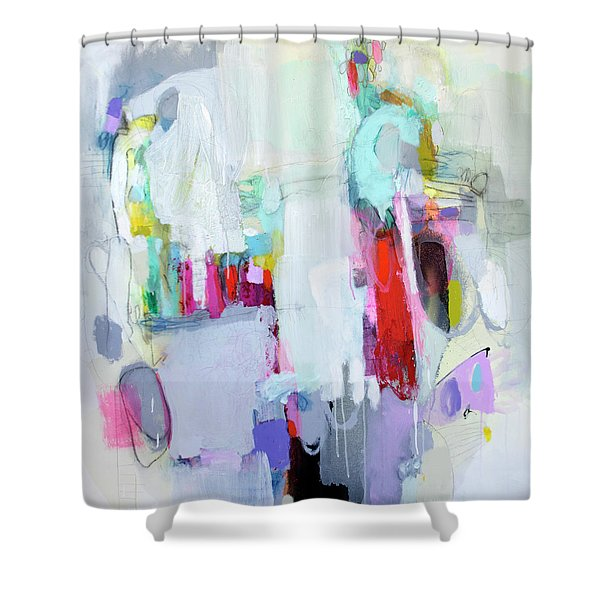 Hang Up And Call Again Shower Curtain