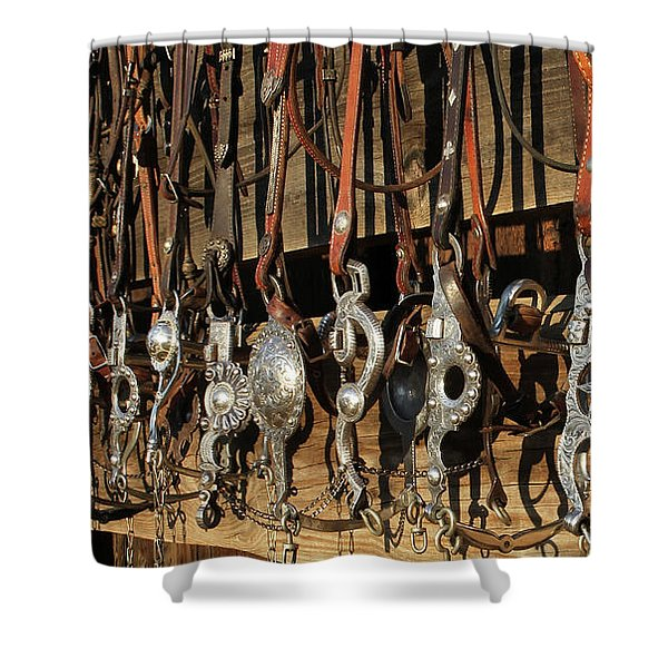 Hanging Bits Shower Curtain