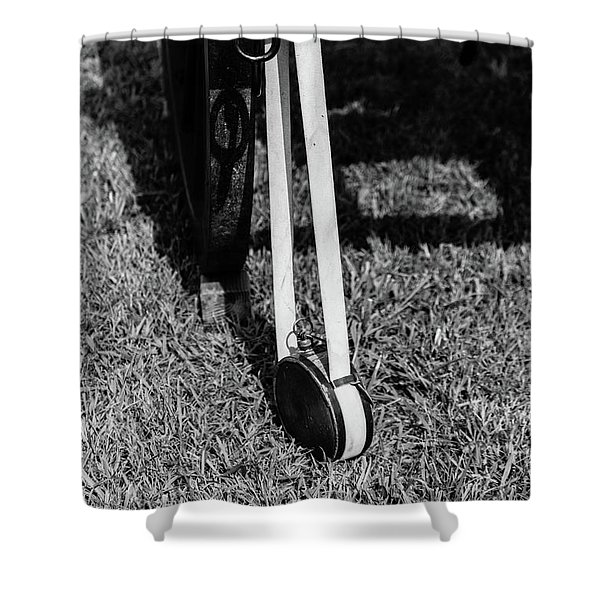 Hanging Canteen Shower Curtain