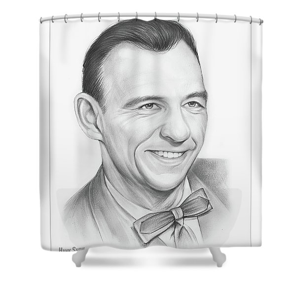 Hank Snow Shower Curtain