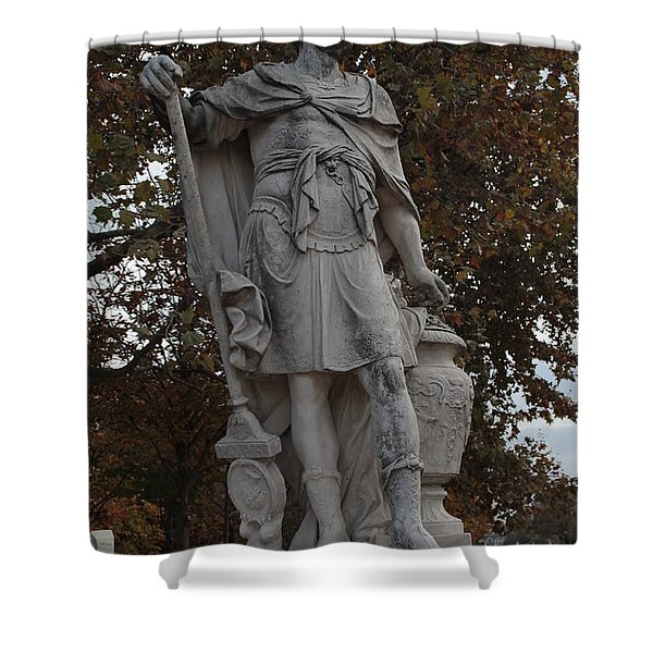 Hannibal Barca In Paris Shower Curtain