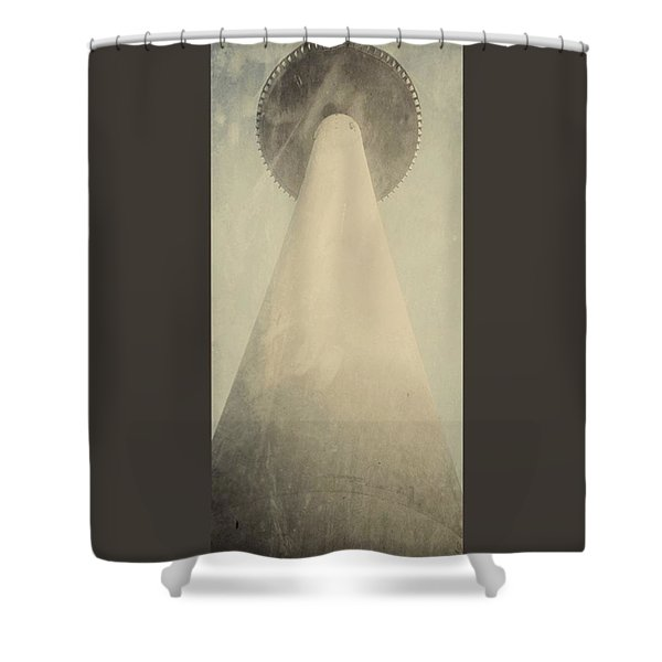 Volkswagen Tower In Hanover Germany Shower Curtain