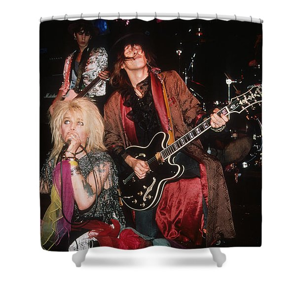 Hanoi Rocks Shower Curtain