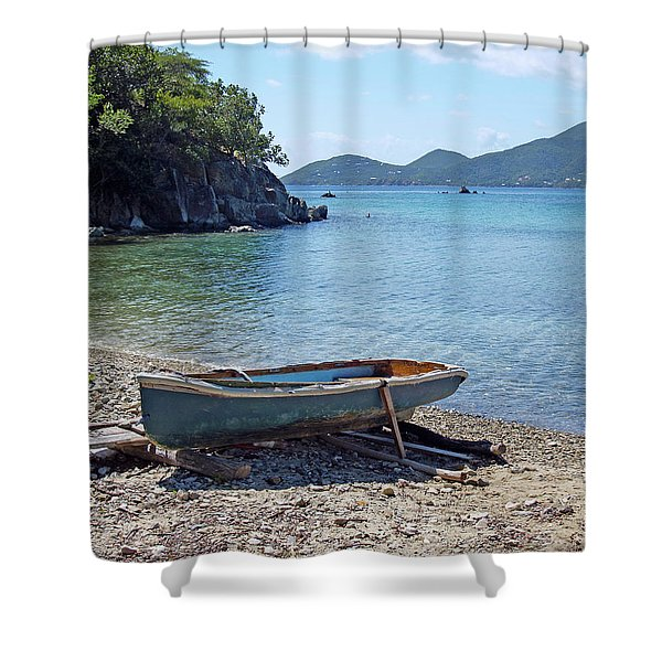 Hansen Bay 2 Shower Curtain
