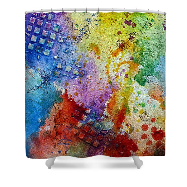 Happy Accidents Shower Curtain