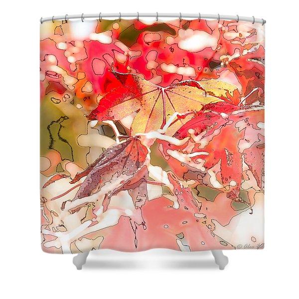Happy Autumn Shower Curtain