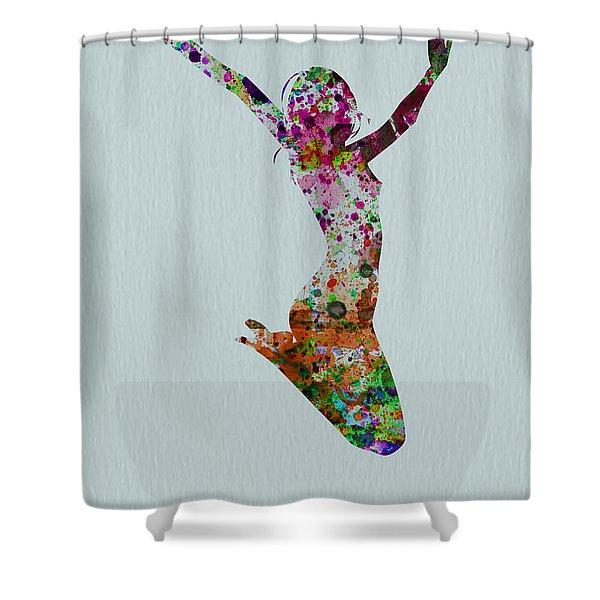 Happy Dance Shower Curtain