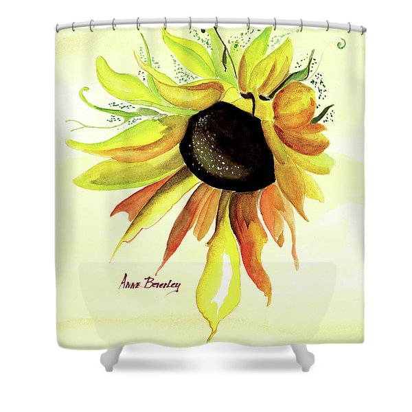 Happy Friday Shower Curtain
