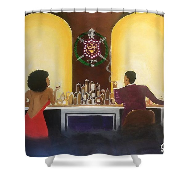 Happy Hour Shower Curtain