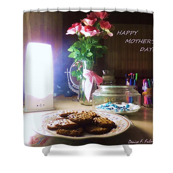Happy Mothers Day Shower Curtain