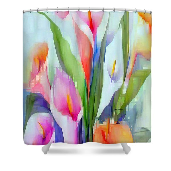 Happy To See You Shower Curtain