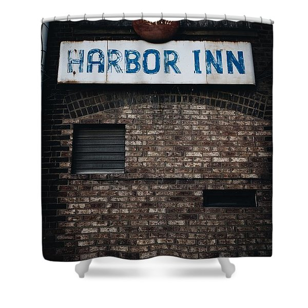Harbor Inn Shower Curtain