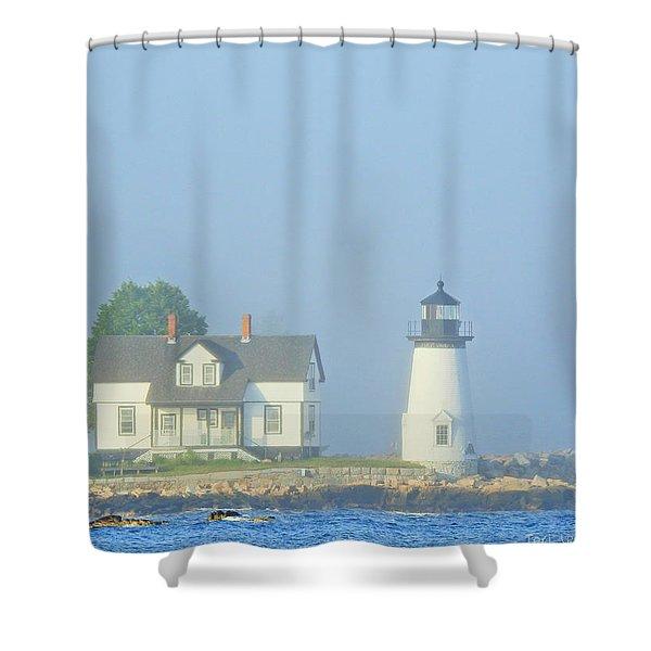 Harbor Mist Shower Curtain