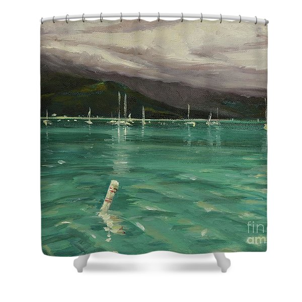 Harbor View Shower Curtain