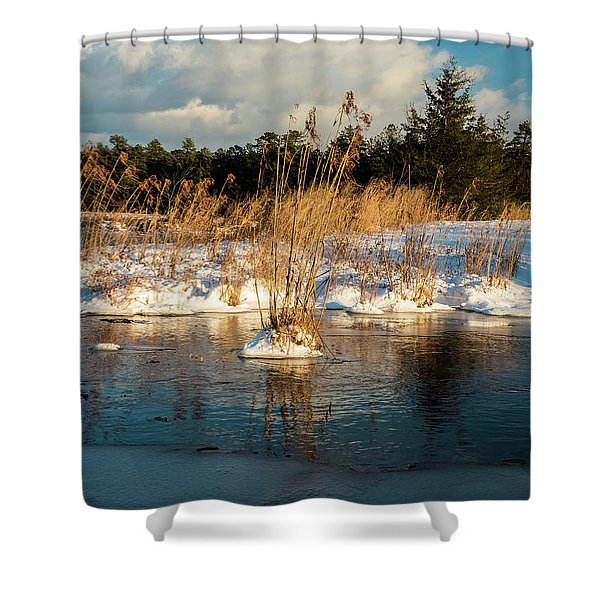 Hard Frosts And Icy Drafts Shower Curtain