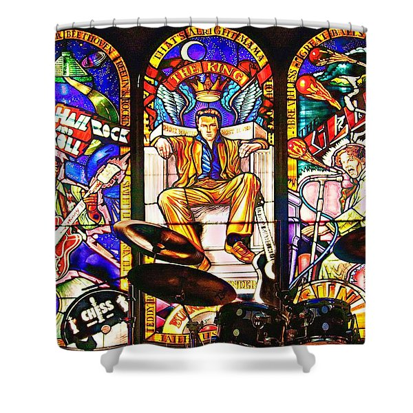 Hard Rock Cafe Shower Curtain