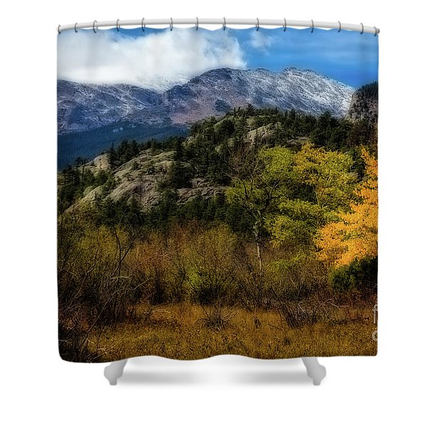 Hard Winter Coming Shower Curtain