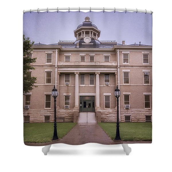 Hardeman County Courthouse Shower Curtain