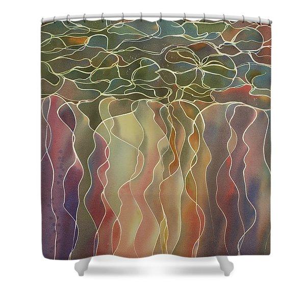 Harlequin Water Lillies Shower Curtain