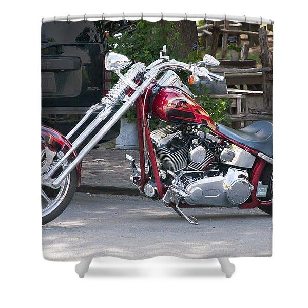 Harley Chopped Shower Curtain